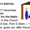 Children's Nativity Mass 2017