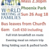 26th Aug. - Trip to Popes Mass Phoenix Park