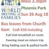 26th Aug. - Trip to Popes Mass Phoenix Park