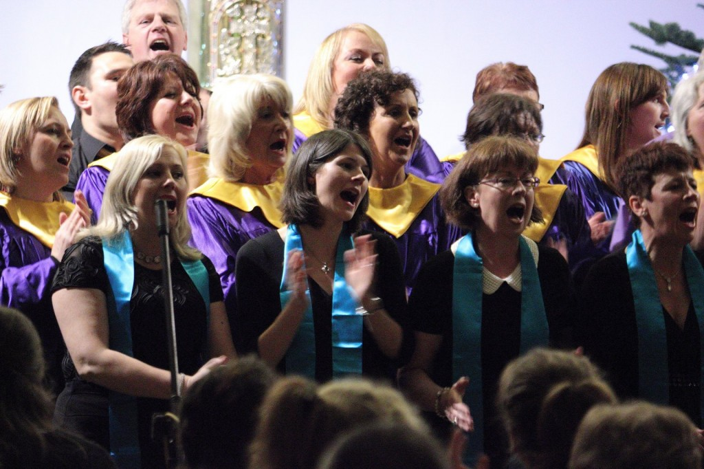 Members-of-Carrigaline-Carrigtwohill-and-Castlelyons-Gospel-Choirs-at-the-100-Gospel-Voices-Concert-December-2013-1024x682