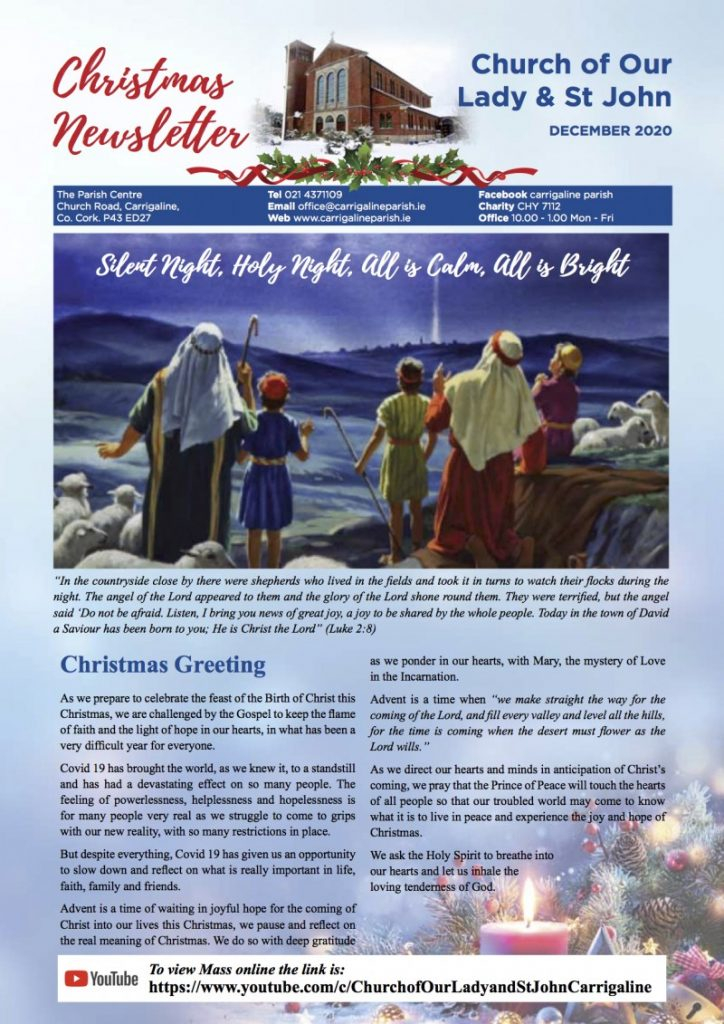 Christmas 2020 Newsletter